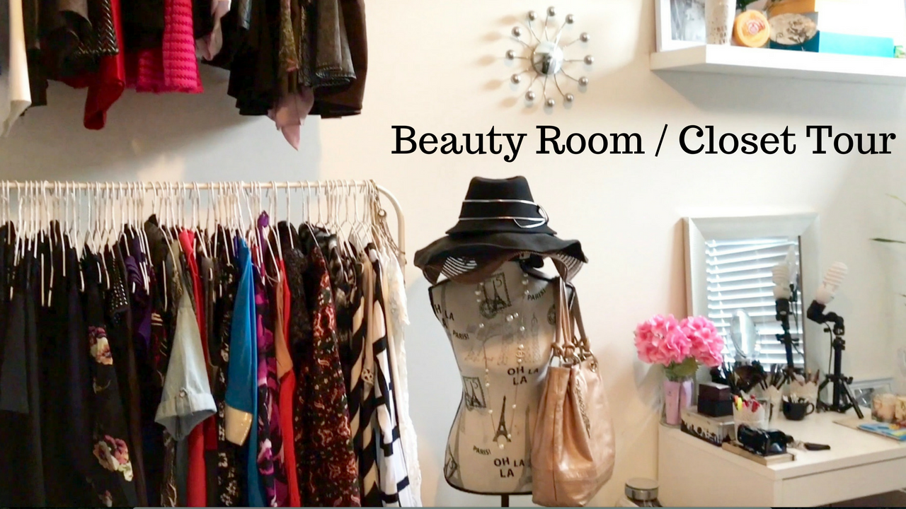 BEAUTY ROOM / CLOSET TOUR (video)