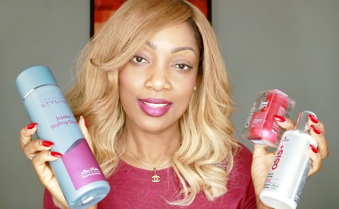 FAVORITE HAIR STYLING PRODUCTS / HOW TO USE THEM (video)