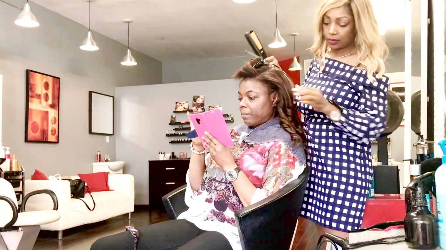 STYLING MICRO WEFT HAIR EXTENSIONS (video)